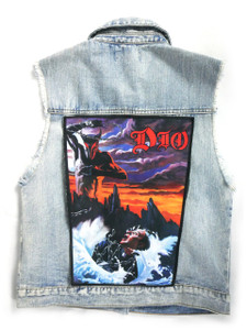 "Go Rocker - DIO Holy Diver  13.5"" x 10.5"" Color Backpatch"
