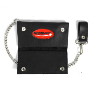 Solo Piel - Leather Long Wallet with Chain
