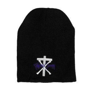 Christian Death - Logo Embroidered Knit Beanie