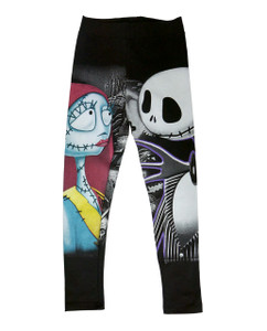 The Nightmare Before Christmas - Jack and Sally Leggings