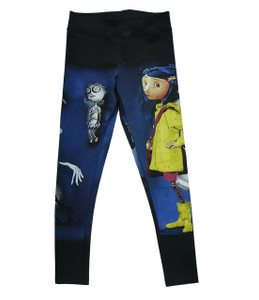 Coraline - Coraline and the Kids Leggings