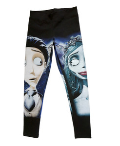 The Corpse Bride - Emily and Victor Leggings
