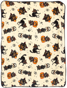 Sourpuss - Black Cats Blanket