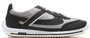 Panam - Black, Gray and White Synthetic Unisex Sneaker