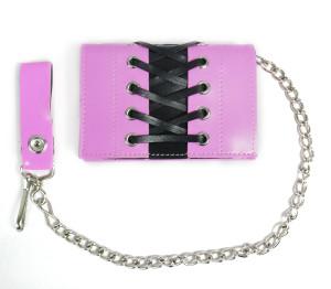 Pink Corset Wallet