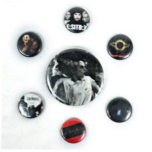 7 Piece Pin Lot - Bride of Frankenstein, Exe + More!