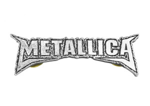 "Metallica - St. Anger Logo 2"" Metal Badge Pin"