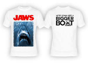 Jaws - We're Gonna Need A Bigger Boat T-Shirt