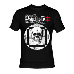 Psychic Tv - Skull TV T-Shirt