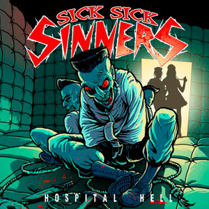 "Sick Sick Sinners - Hospital Hell 4x4"" Color Patch"