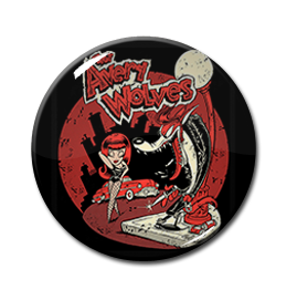 "The Avery Wolves by Shawn Dickinson 1"" Pin"