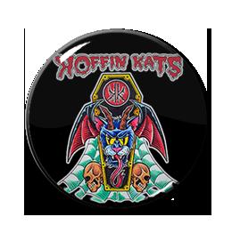 "Koffin Kats - Coffin Cat Devil 1"" Pin"
