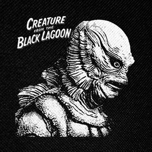 "Creature from the Black Lagoon 4x4"" Printed Patch"