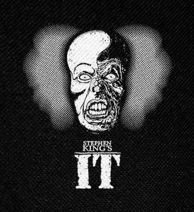 "Stephen King's IT - Pennywise Burned Face 4x4"" Printed Patch"