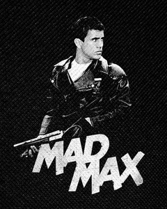 "Mad Max 4x5"" Printed Patch"