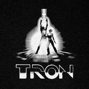"Disney's Tron 4x4"" Printed Patch"