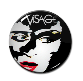 """Visage - Face Art 1"""" Pin"""