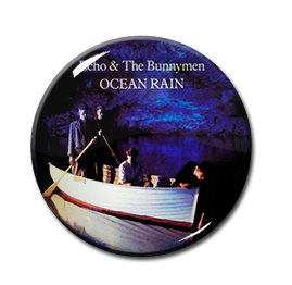 "Echo and the Bunnymen - Ocean Rain 1"" Pin"