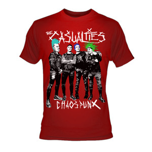 The Casualties - Chaos Punx T-Shirt