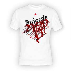 Suicide - Self Title White T-Shirt