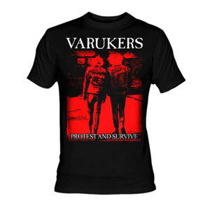 Varukers - Protest and Survive T-Shirt