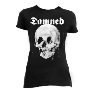 The Damned - The Lady and The Skull Blouse T-Shirt