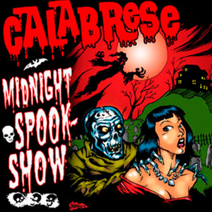 "Calabrese - Midnight Spook Show 4x4"" Color Patch"