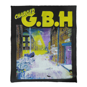 Charged G.B.H. Backpatch Misprinted