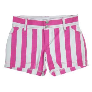 Stripped Mini Shorts