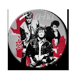 """A-Ha Band 1.5"""" Pin"""
