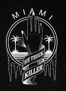 "Dexter - Ice Truck Killer 4x4.5"" Printed Patch"