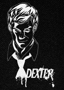 "Dexter 4.5x3"" Printed Patch"