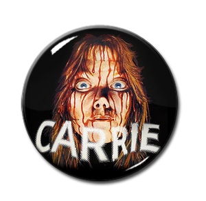 "Carrie - Bloody Face 1.5"" Pin"