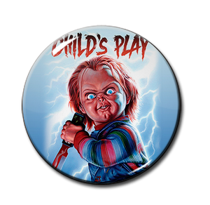 "Child's Play 1.5"" Pin"
