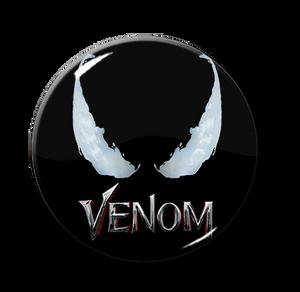 "Venom Movie 1.5"" Pin"