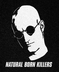 "Natural Born Killers 3.5x5.5"" Printed Patch"