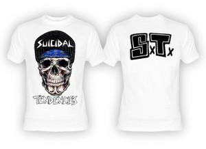 Suicidal Tendencies - Cyco Skull White T-Shirt