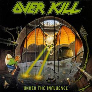 """Overkill - Under The Influence 4x4"""" Color Patch"""