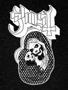 "Ghost - Skelleton Mother 3.5x5"" Printed Patch"