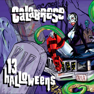 "Calabrese - 13 Halloweens 4x4"" Color Patch"