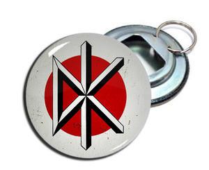 """Dead Kennedys - Logo 2.25"""" Metal Bottle Opener Keychain"""