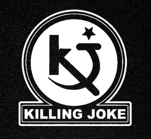 "Killing Joke - KJ Records Logo 4x4"" Printed Patch"