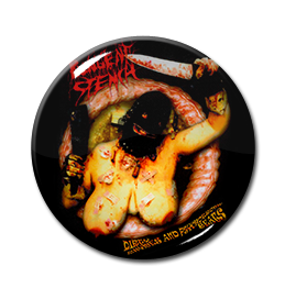"""Pungent Stench - Dirty Rhymes and Psychotic Beats 1.5"""" Pin"""