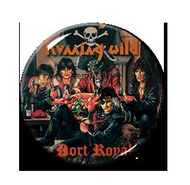 "Running Wild - Port Royal 1.5"" Pin"