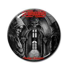 """Deathwish - At The Edge Of Damnation 1.5"""" Pin"""