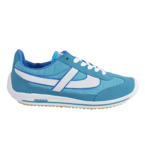 Panam - Baby Blue and White Synthetic Unisex Sneaker