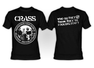 Crass - Persons Unknown T-Shirt