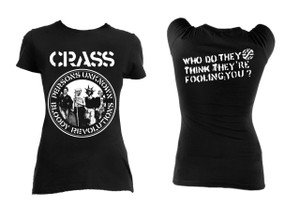 Crass - Persons Unknown Blouse T-Shirt