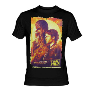 Solo A Star Wars Story - Movie Poster T-Shirt