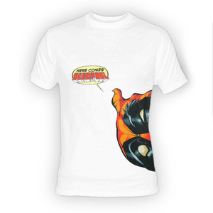 Deadpool - Here Comes Deadpool White T-Shirt
